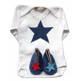 Conjunto Bebé Estrella Azul