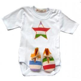 Conjunto Bebé Estrella Colores