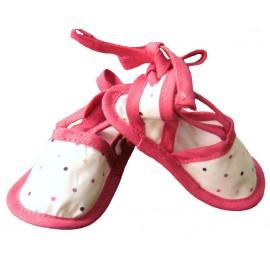sandalias topitos de colores