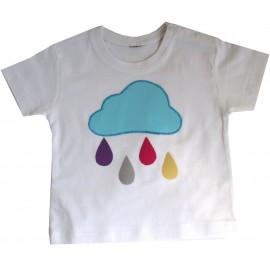 Camiseta Niño/a Lluvia Colores