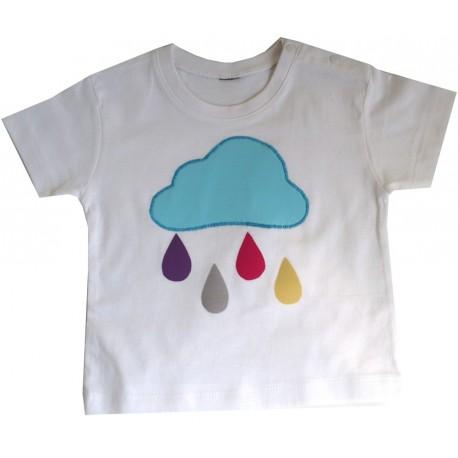 camiseta lluvia colores