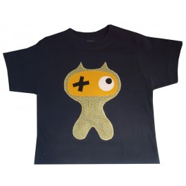 camiseta monstruo de antifaz
