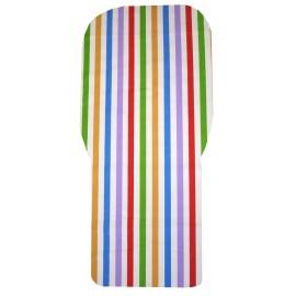 colchoneta universal rayas colores
