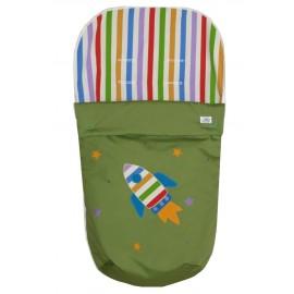 saco silla verde cohete