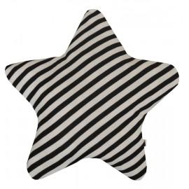 cojín estrella rayas