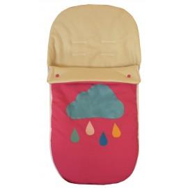saco de silla universal fuxia con lluvia