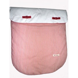 colcha lacitos rosa