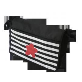 bolso carrito negro estrella colores
