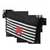 bolso carrito negro rayas estrella