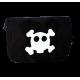 Bolso Carrito Negro Calavera