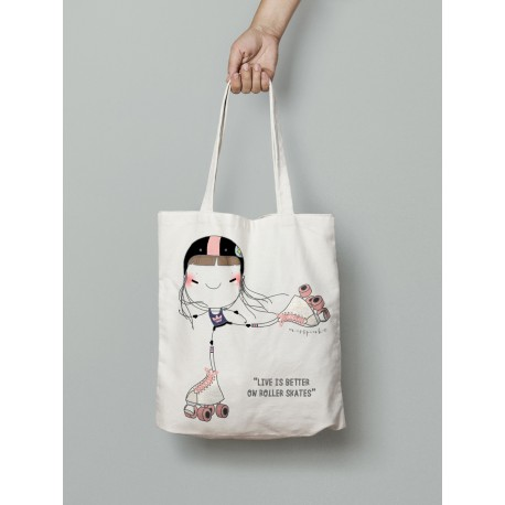 Tote bag Patinadora