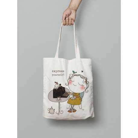 Tote bag Express yourself
