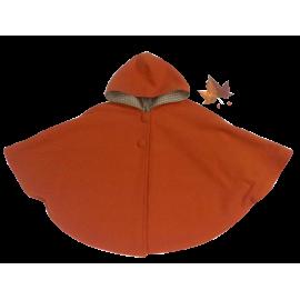 Capa Naranja Con Capucha