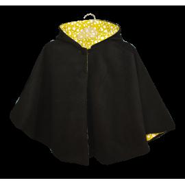 Capa Negra y amarilla.