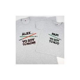 Pack Camisetas Yo Soy Tu Padre, Hijo