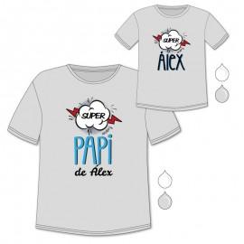 Pack Camisetas Super Papi
