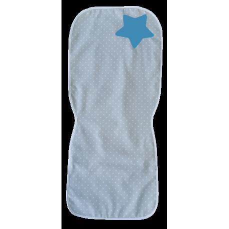 Colchoneta gris, estrella