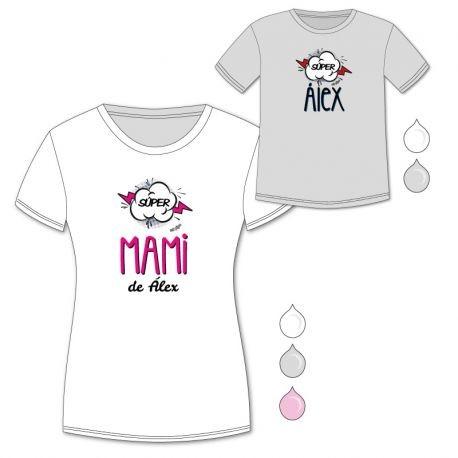 Pack Camisetas Super Mami