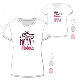 Pack Camisetas Mamá Motera