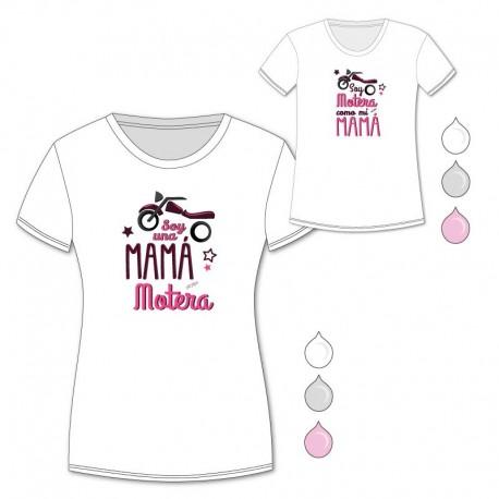 Pack Camisetas Mamá Motera