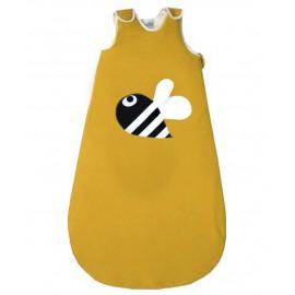 saco dormir abeja amarillo