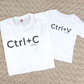 Pack Camisetas Ctrl+C Ctrl+V