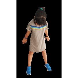 Vestido niña Gris V.