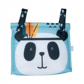 Bolso Carrito Bebé Oso Panda