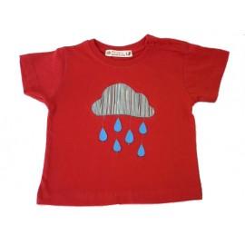 Camiseta Niño/a Roja Lluvia